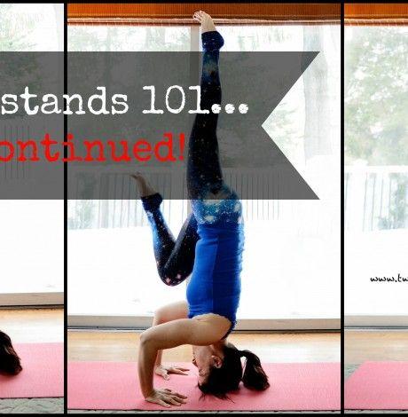 great handstand tutorial inversion yoga  yoga