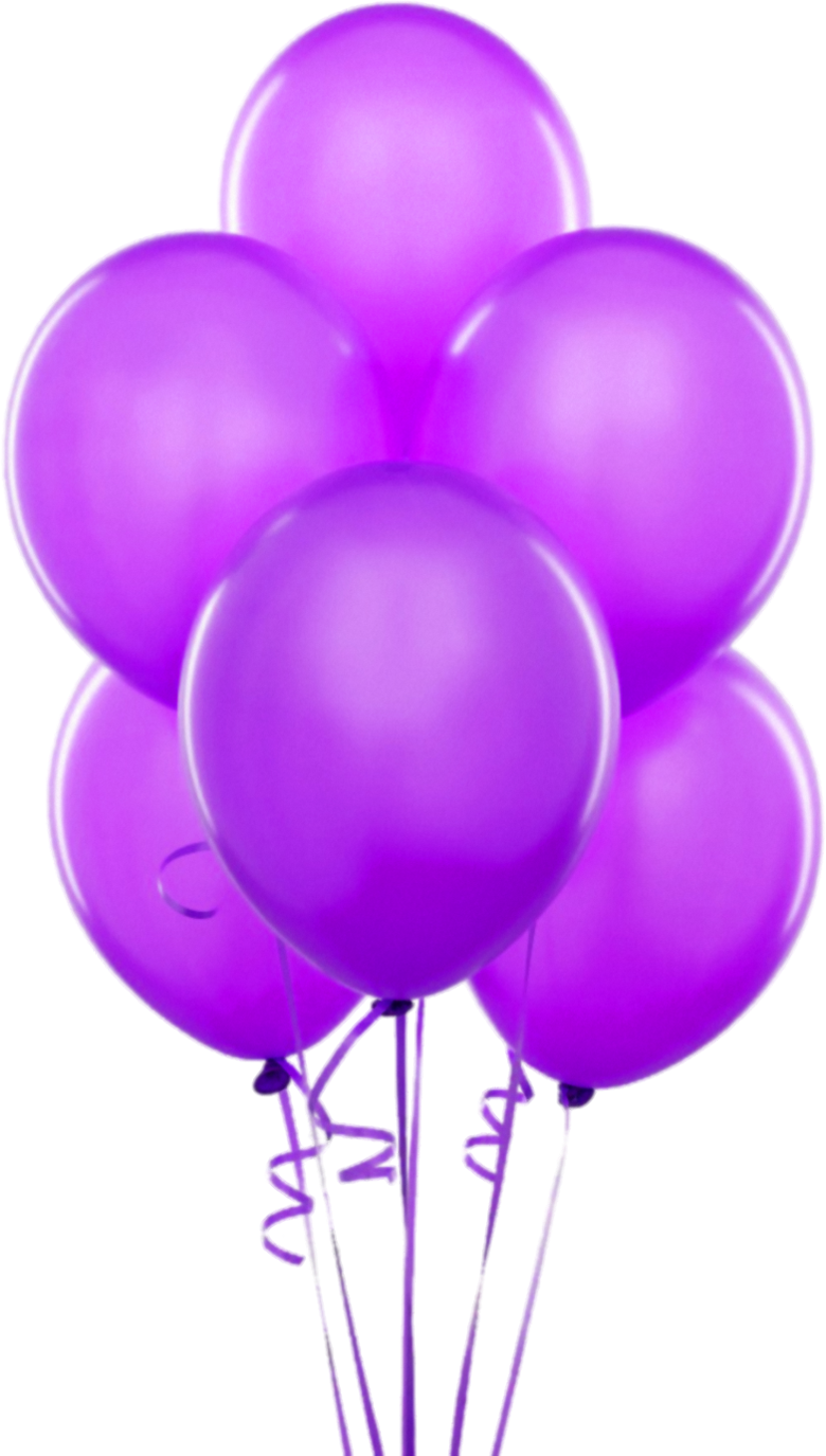 hight resolution of purple transparent balloons clipart