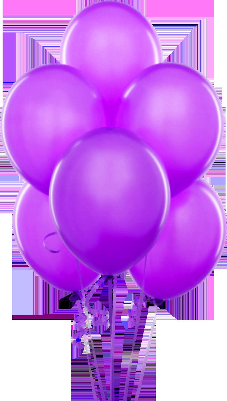 purple transparent balloons clipart [ 780 x 1375 Pixel ]