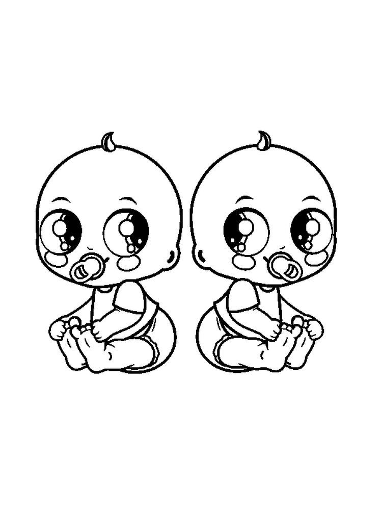 Free Coloring Pages For Baby