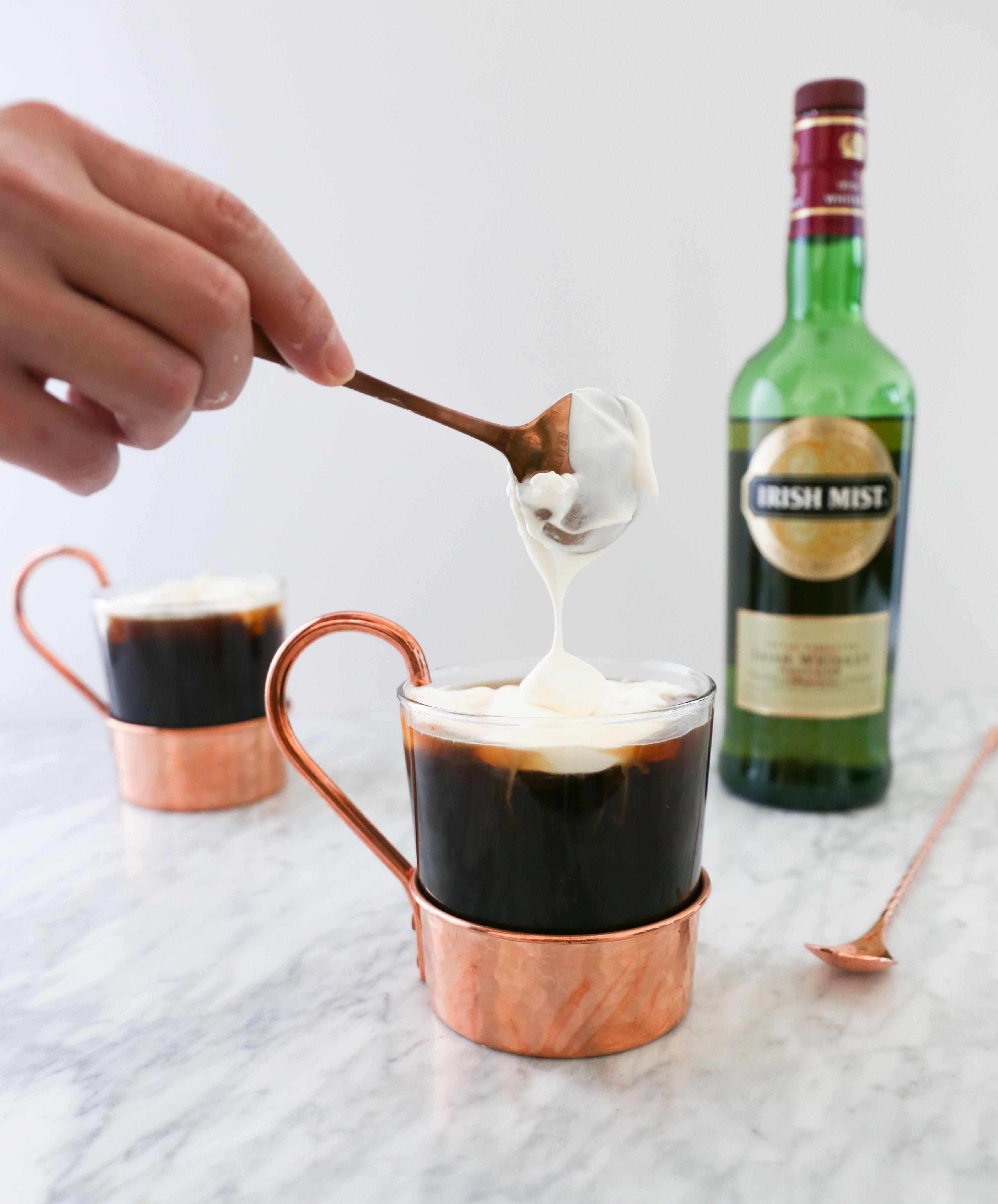 Kentucky coffee brown sugar syrup irish coffee
