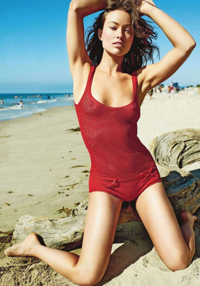 Olivia Wilde Naked In GQ Magazine new pictures