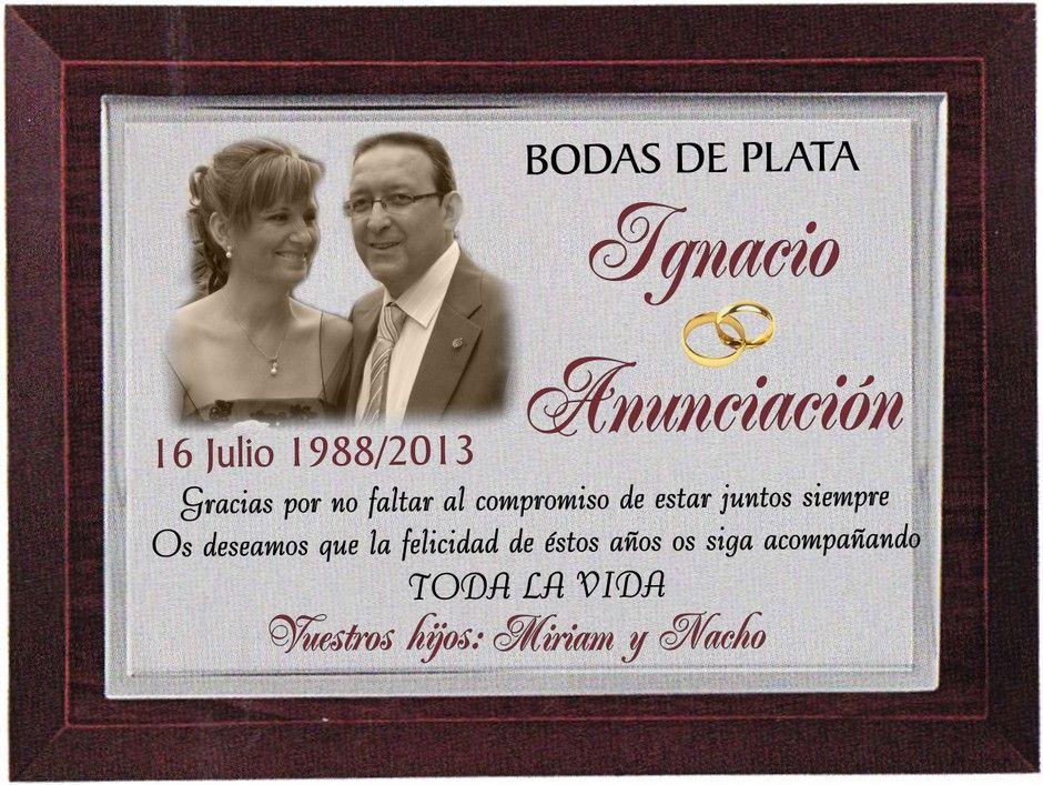 Frases De Aniversario En Espanol: Invitaciones Para Bodas De Plata - Google Search