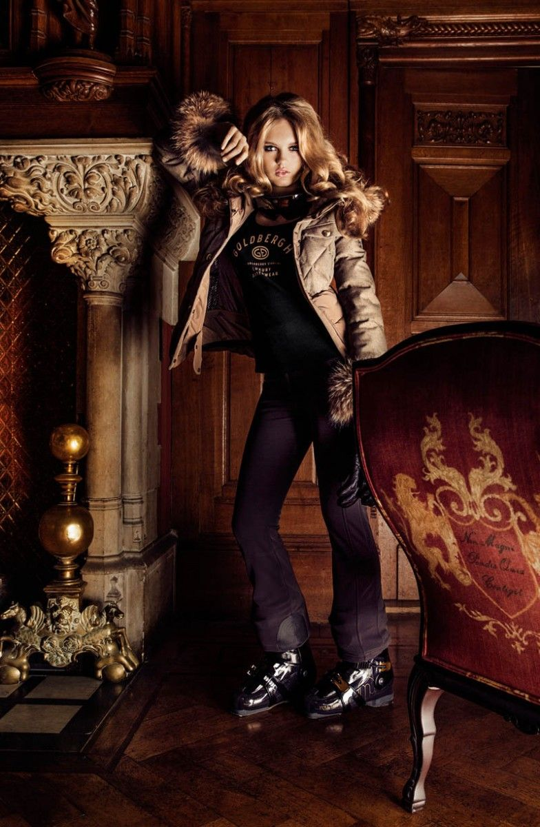 Romee Strijd for the Goldbergh Fall/Winter 2013 Campaign