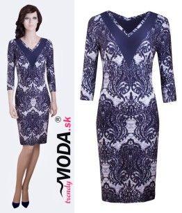 b345a8b54fc Elegantné šaty na oslavu pre moletky - trendymoda.sk