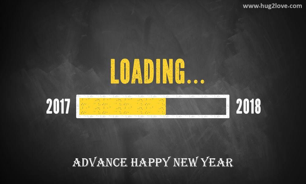Advance Happy New Year 2018 Wallpaper Hd Happy New Year 2018