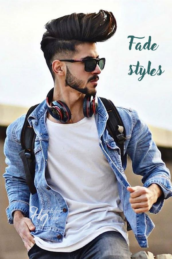 15 top Fade haircuts by Indian models | Cool hairstyles for men, Beard styles for men, Cool ...
