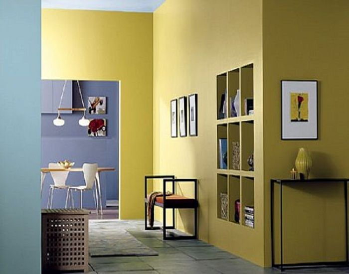 Selecting Interior Paint Color Interior Wall Paint Colors In Yellow Unique Rooms Pinterest
