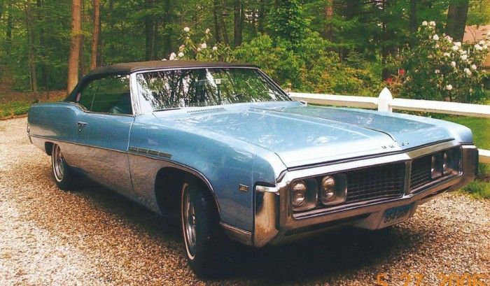 1969 Buick Electra 225 convertible