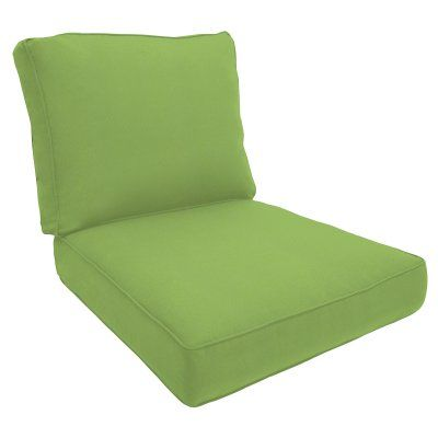 Eddie Bauer Sunbrella Deep Seating Lounge Chair Cushion - Double Piped Holmes Flannel - 11566N-F44093