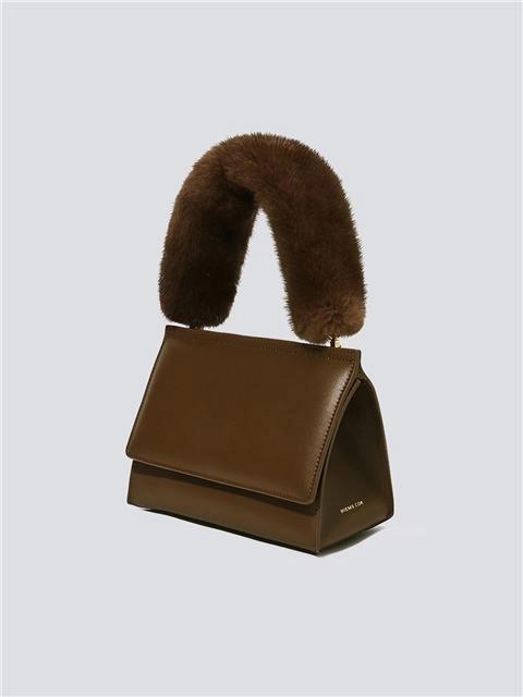 Mink Fur Tote Bag Brown W Concept In 2020 Fur Bag Casual Tote Bag Mink Fur