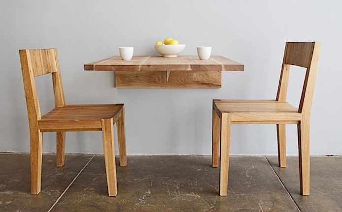 LAXseries Wall Mounted Table: Remodelista