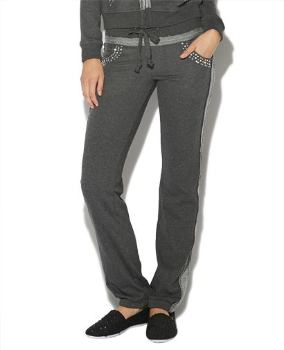 Embellished Signature Sweatpant from Wet Seal