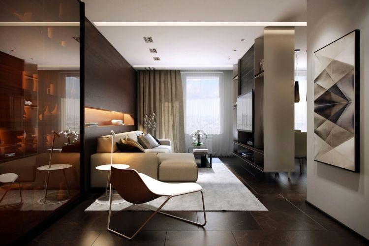 Wohnzimmer Ideen 2018 – Einrichten mit Neutralfarben ...