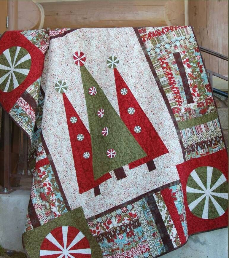Step into christmas quilt pattern at abbey lane quilts - Cocina navidena espanola ...