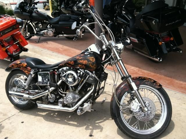Used 2008 Harley Davidson Fxdc Dyna Super Glide Custom For: Used Motorcycle For Sale In San Antonio, Texas: 2005