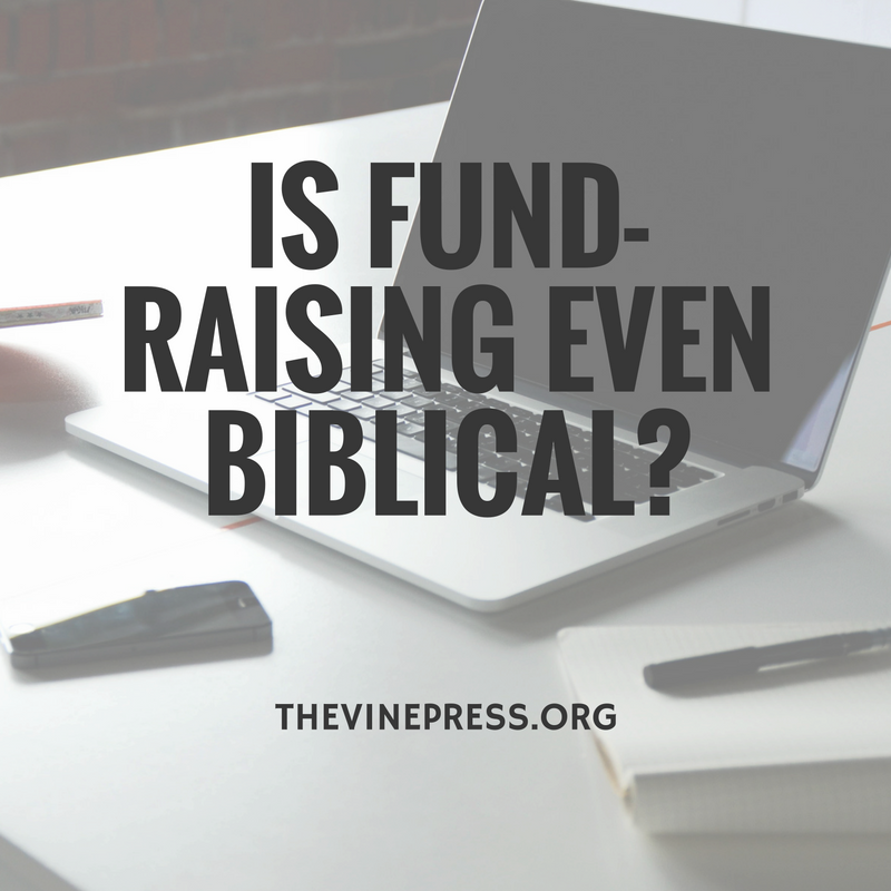 Is tent-making really the only way that missionaries are to raise support? Takeu2026 & What the Bible Really Says About Support-Raising | FaithsMessenger ...