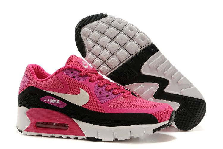 Here is the best destination to buy high quality and cheap Nike Air Max 90  Black Black Br Shoes 2015 Releases Rose Hot online