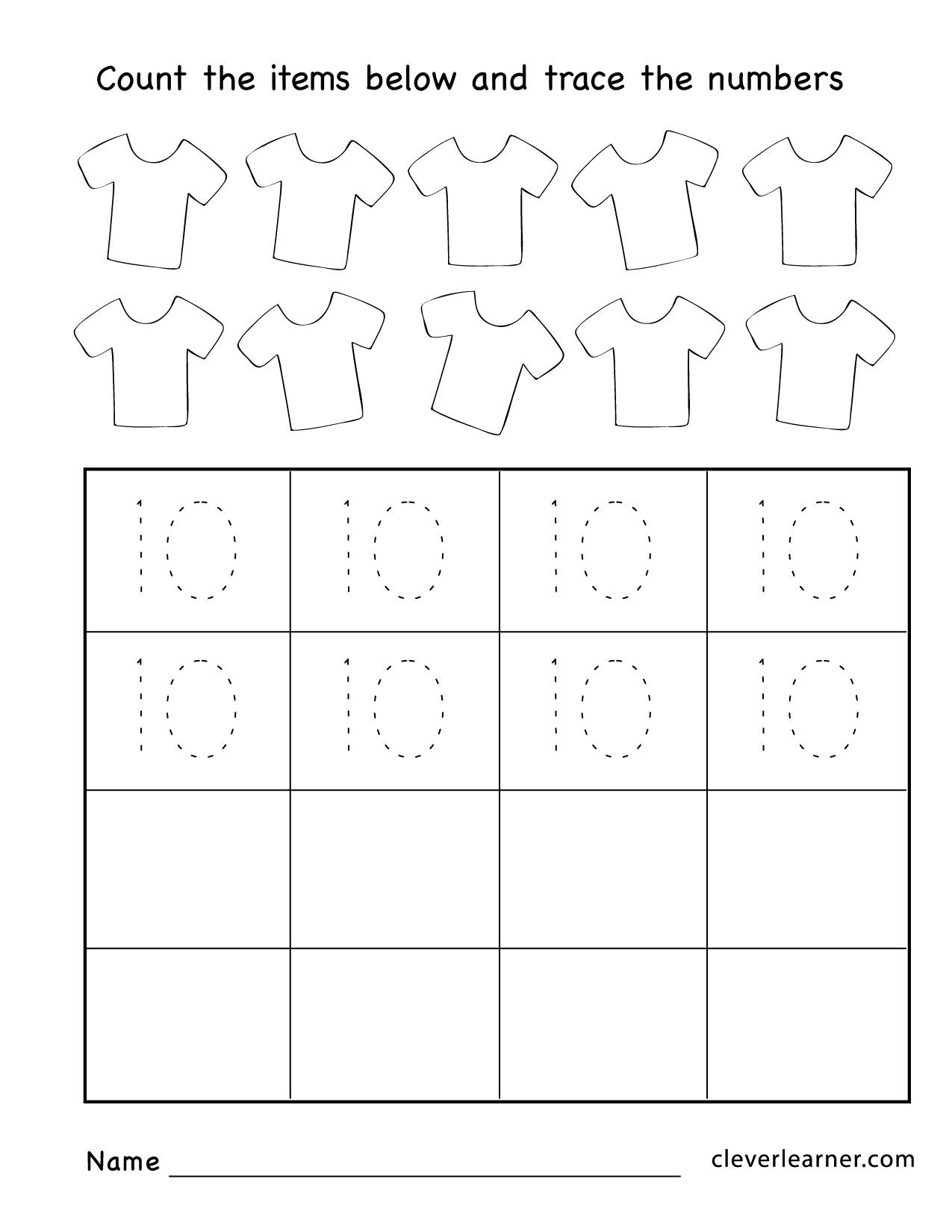 Printable Traceable Numbers 1 20 The Best Worksheets Image