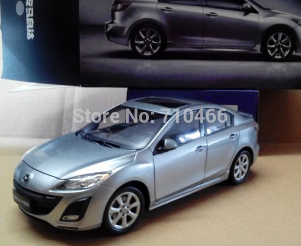 Silver 2017 1 18 New Mazda 3 Star Gallop Sedan Cast Model Car Mini Kits Limitied Edition Affiliate