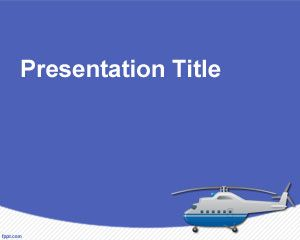 Helicopter powerpoint template is a free air transportation helicopter powerpoint template is a free air transportation template for power point presentations toneelgroepblik Image collections