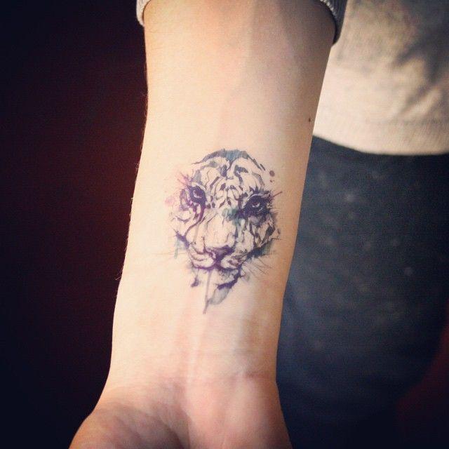Tatouages temporaires Lion lot de 2 tatouages