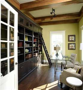 love the bookcases
