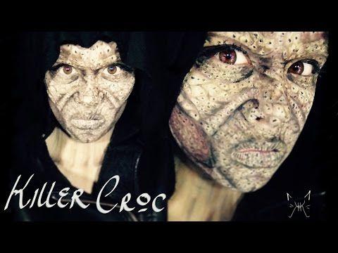 Killer croc makeup | Cosplay ideas | Pinterest | Killer croc ...