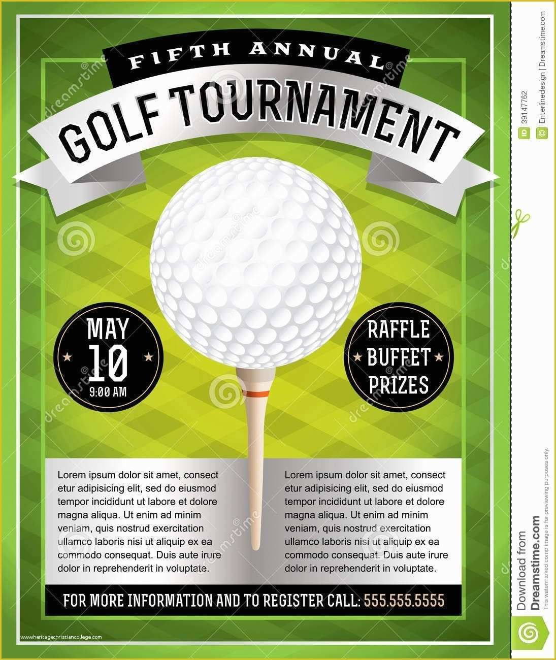 Free Publisher Templates Of Golf Tournament Flyer Template