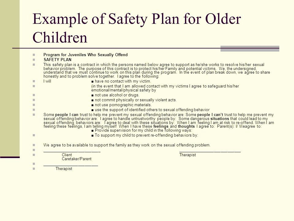Behavior Safety Plan Template In 2020 Doctors Note Template How