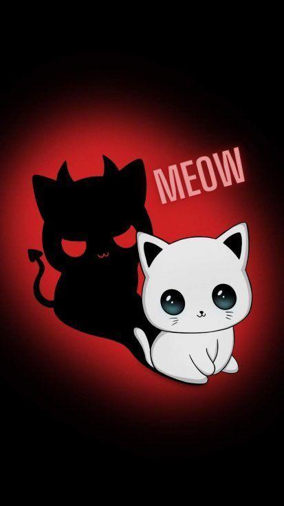 an evil kitten