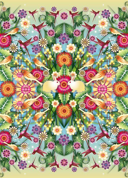 Catalina Estrada Papier Peint Floral, Enluminure, Dessin, Artistes, Tout,  Design Motif