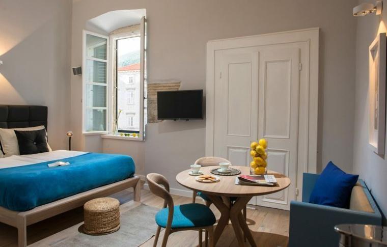 Interior Design Haus 2018 Dekorieren Sie kleine Wohnung mit 50m²