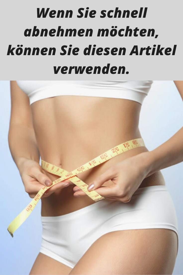 Te, um effektives Gewicht zu verlieren