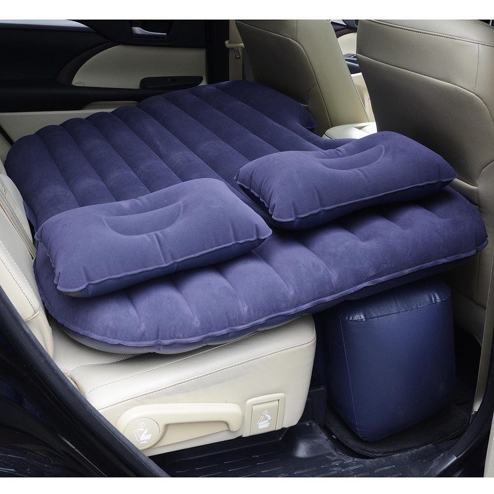 Inflatable Mattress Car Air Bed Backseat Cushion