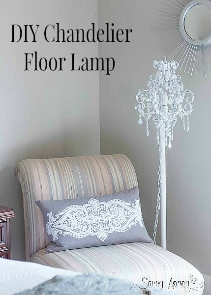 Diy Chandelier Floor Lamp