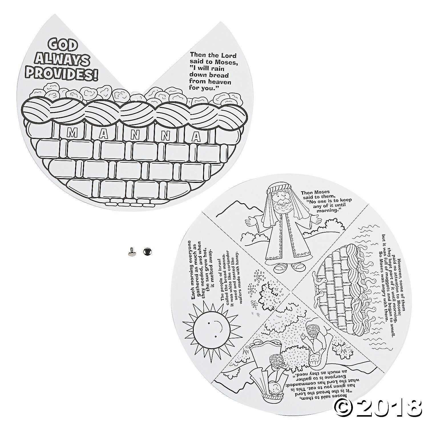 Color Your Own Manna Wheels A02