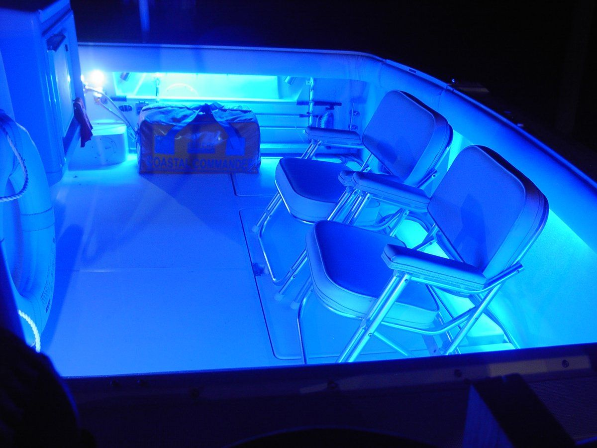 LED Cockpit lighting The Hull Truth Boating and