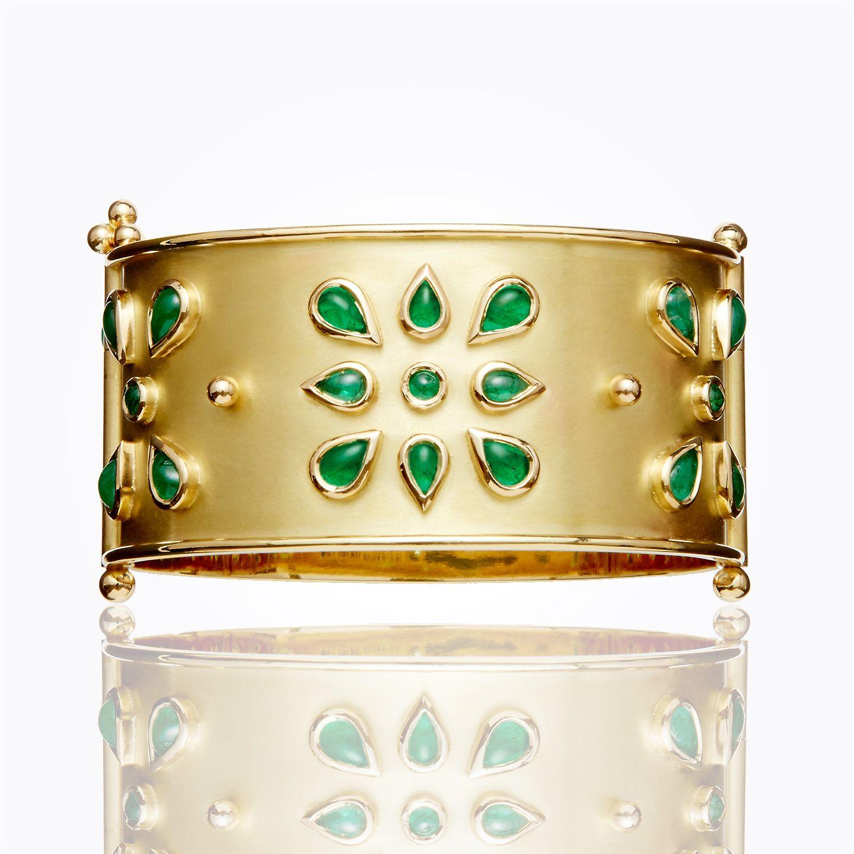 Temple st clair k emerald mandala cuff dimensions inner