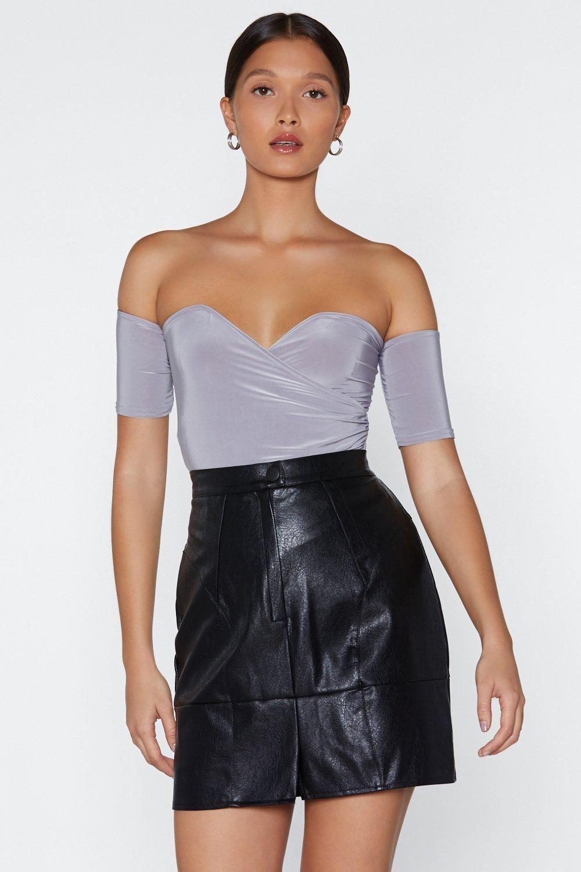 Rust lace bodysuit  Shoulder and Wiser OfftheShoulder Bodysuit  Thanks Itus New