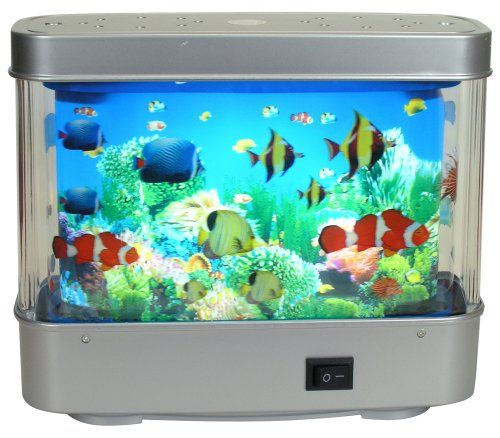Fish Tank Light - Looks Like A Real Aquarium