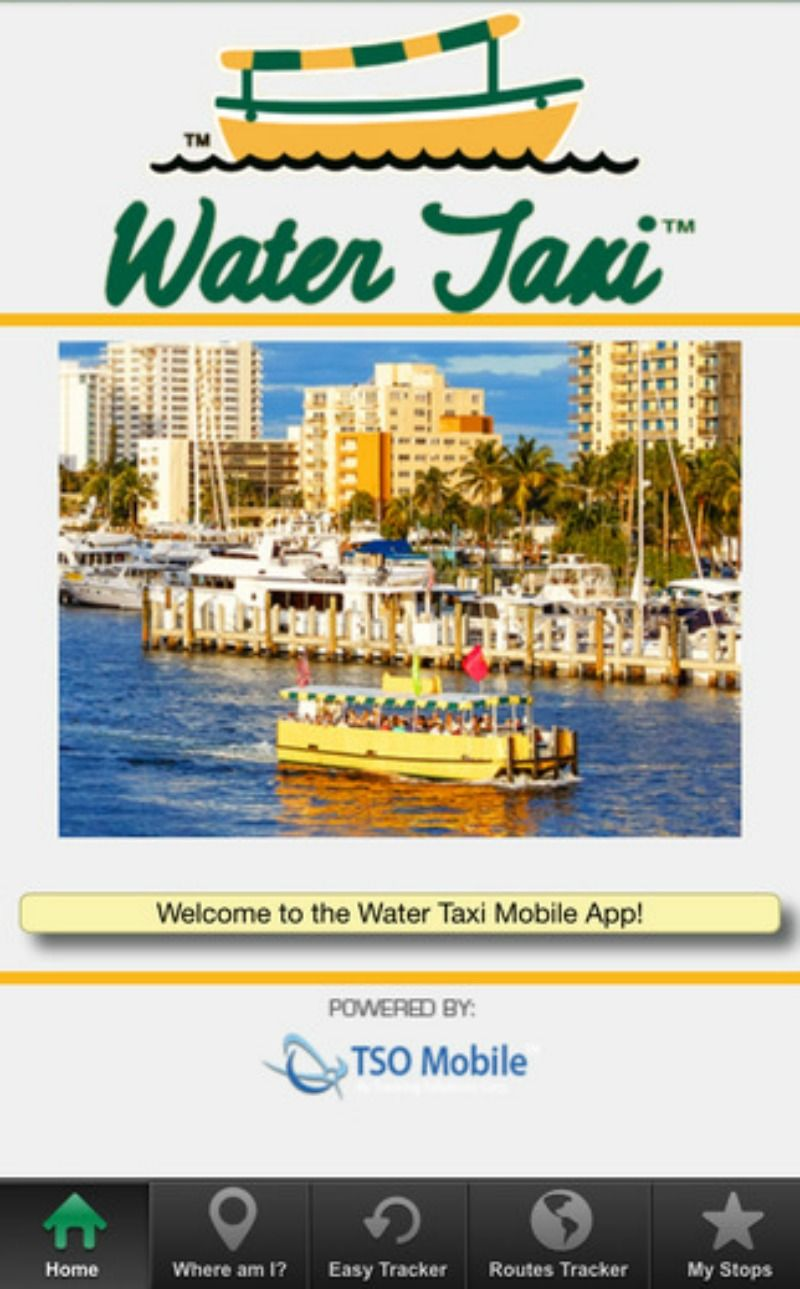Fort Lauderdale Water Taxi launches new mobile app #FLL #FortLauderdale #WaterTaxiApp