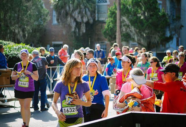 Rock 'n' Roll Marathon in Savannah, Georgia.