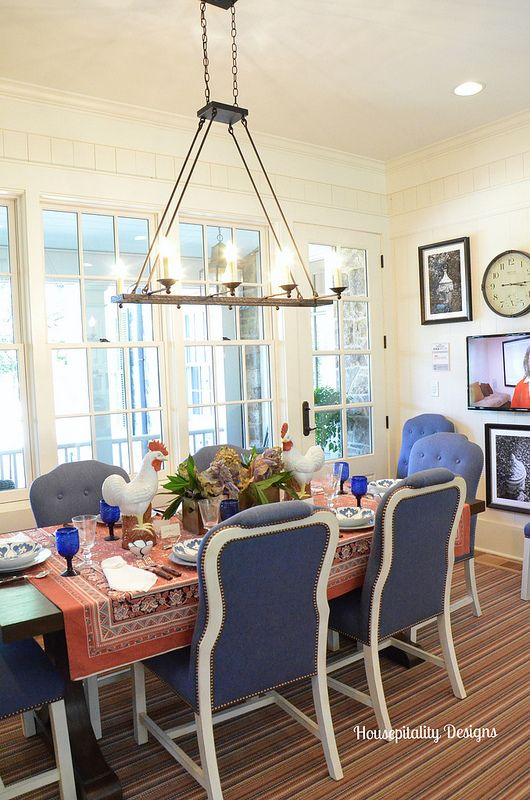 Dining Room 2015 Southern Living Idea House Housepitality Designs Southern Living Idea House