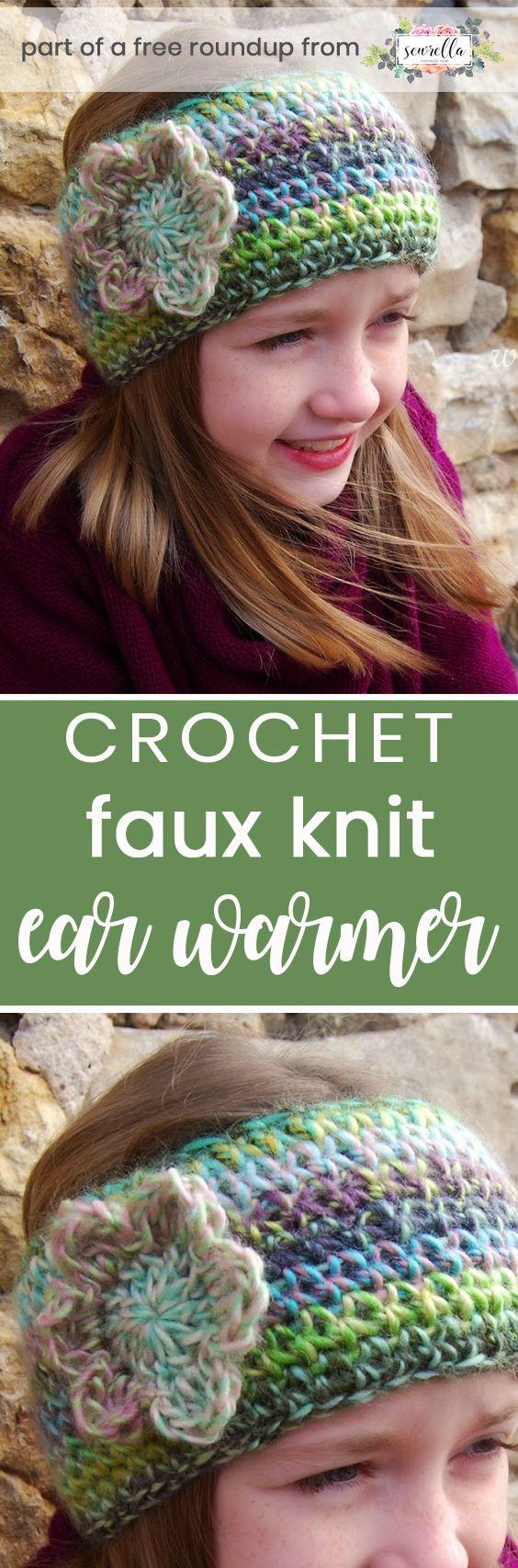 Crochet Gifts to make in Under 1 Hour   Ear warmer headband, Free ...