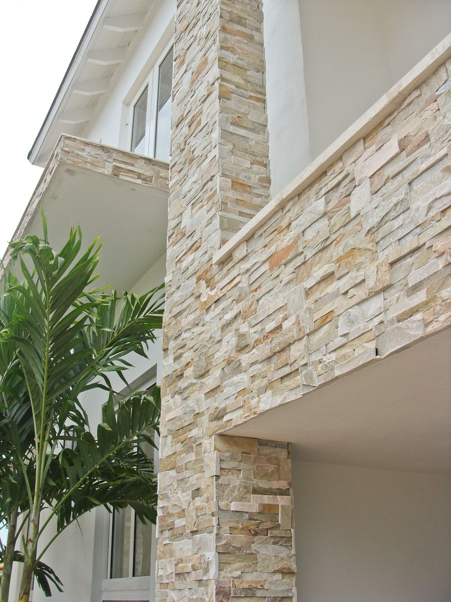 Add curb appeal to your home with natural stone veneer panels for ...