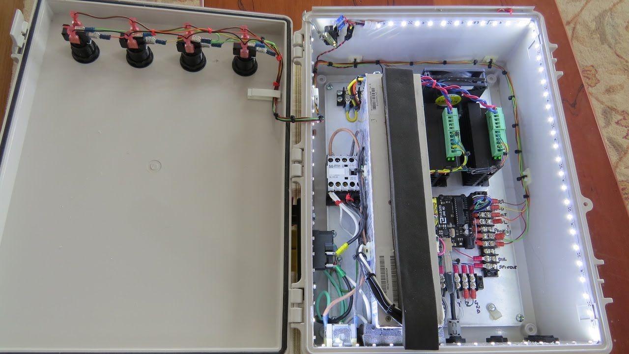 2 Axis GRBL Control Box For A CNC Lathe Build  | Home built