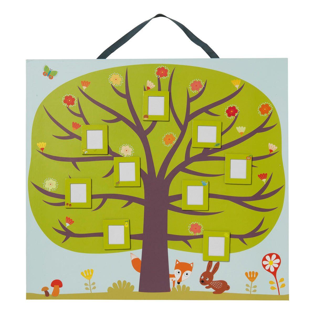 arbre g n alogique oxybul pour enfant de 4 ans 8 ans oxybul veil et jeux arbre. Black Bedroom Furniture Sets. Home Design Ideas