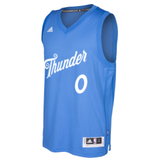 best authentic c81df 9e191 2016 Oklahoma City Thunder Christmas jersey   $110 at ...