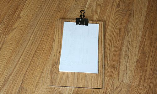 Clipboard Made From Laminate Flooring Could Also Use Old Kids Board Books Laminate Flooring Laminate Flooring